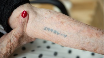 Holocaust survivor shares story of living through three concentration camps