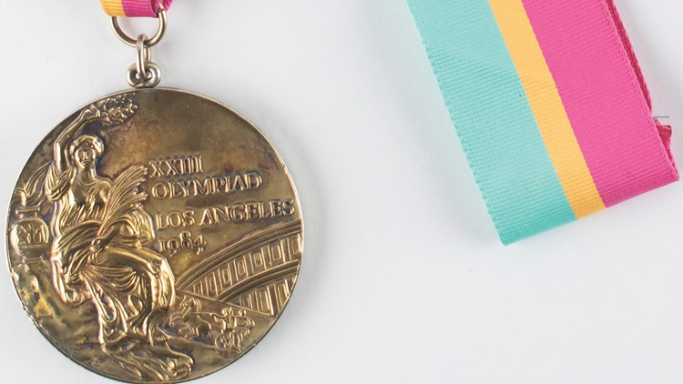 Rare first-place silver medal among Olympic items up for auction