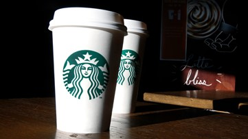 Starbucks giving free coffee to first responders, healthcare workers nationwide