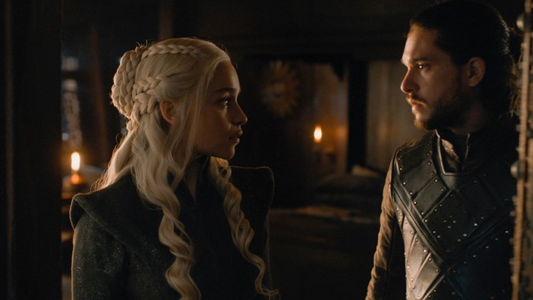 Dany and Jon Snow