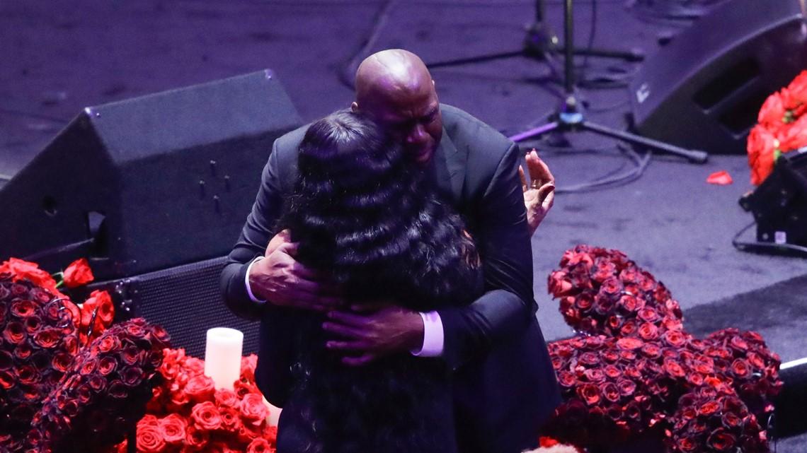 PHOTOS: A Celebration of Life for Kobe and Gianna Bryant
