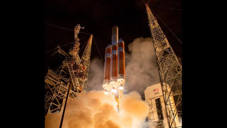 NASA's Parker Solar Probe lifts off | Reuters | NASA soalr probe | probe Parker