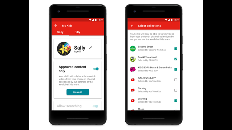 YouTube adds more rigorous parental controls to its Kids app