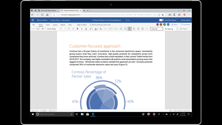 Microsoft's venerable software is used by one billion-plus people each month. Changes promise a simplified customizable ribbon and new color icons.
