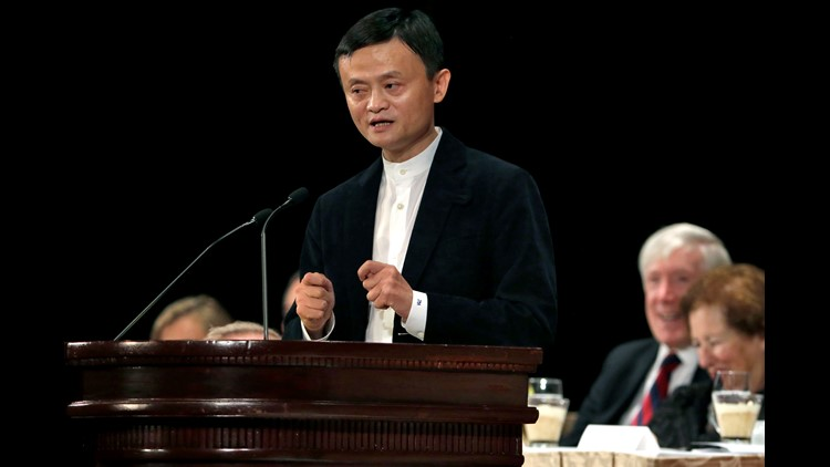 Last year Chinese online sales giant Alibaba said it could create 1 million jobs in the United States. Now chairman Jack Ma says with U.S.-China trade becoming increasingly contentious the promise cannot be fulfilled