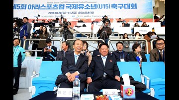 What may be easing longstanding tensions between North and South Korea? A passion for soccer.