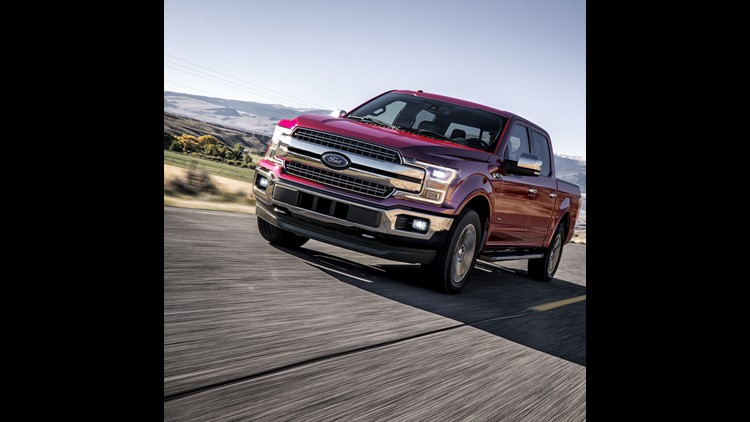 Ford halts F-150 production