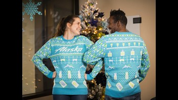 Alaska Airlines to give priority boarding to people in ugly sweaters