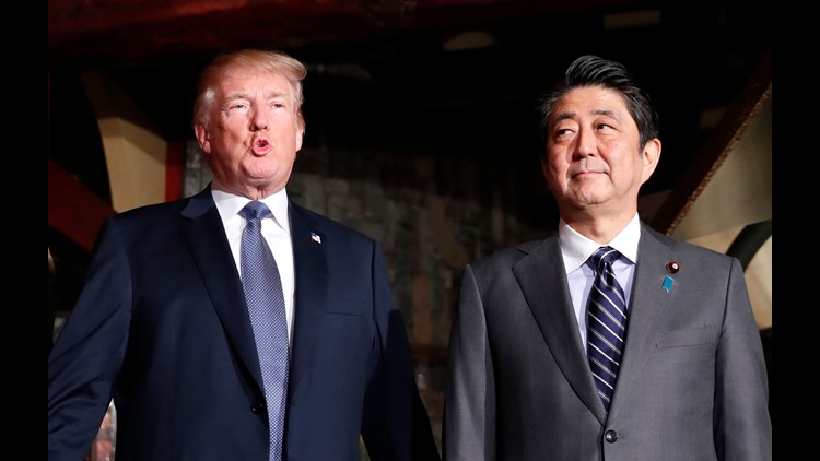 President Trump will again useMar-a-Lago for international diplomacy when he hosts Japanese Prime Minister Shinzo Abe for a mid-April summit at the Florida golf estate, the White House said Monday.
