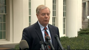 Senator Lindsey Graham calls US Syria withdrawal 'pause situation'