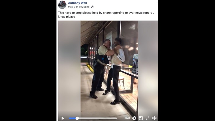 Anthony Wall: At Waffle House, Cop Puts Prom-goer in Chokehold