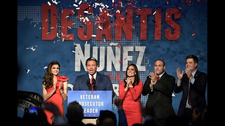 Ap Election 2018 Governor Florida A Eln Usa Fl