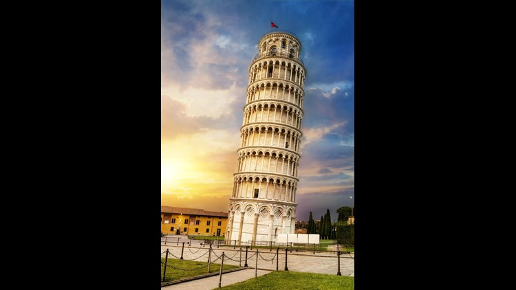 One of the world's most famous buildings, theLeaning Tower of Pisahas survived everything from four powerful earthquakes to two world wars.