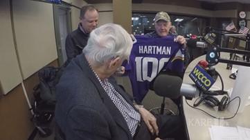 Legendary sports writer Sid Hartman celebrates his 100th birthday