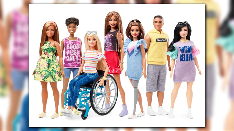2019 Barbie Fashionistas