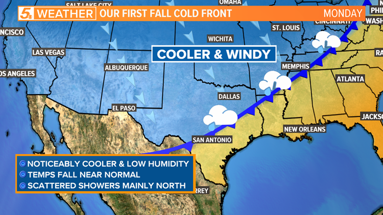 First Fall Cold Front