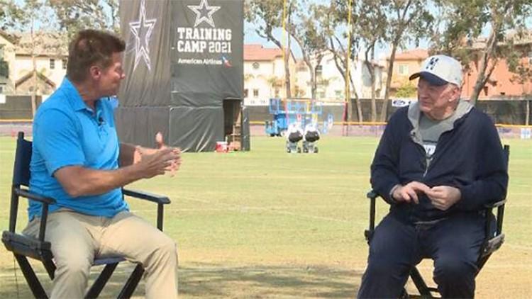 Sunday at Cowboys Camp: Mike McCarthy, Jerry Jones address team's progress