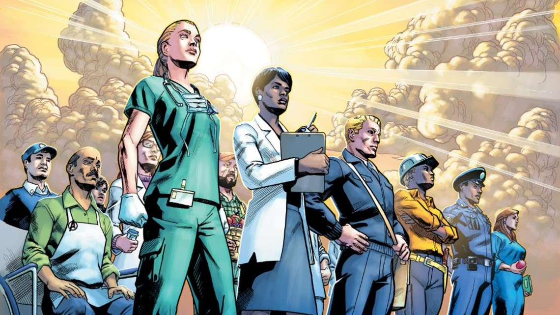 Marvel dedicates National Superheroes Day to real life heroes