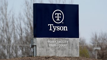 Tysons Foods warns that 'the food supply chain is breaking'