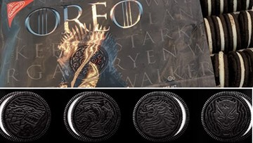 Oreo unveils Game of Throne cookies #ForTheThrone and for the win