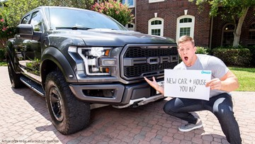 J.J. Watt giving away a Ford Raptor truck, $100K and chance to meet him
