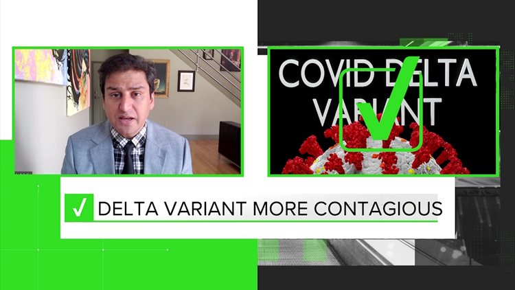 VERIFY: Infectious disease expert addresses concerns over COVID-19 vaccine, Delta variant