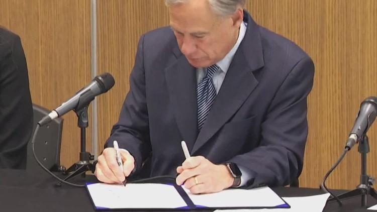 Gov. Abbott ceremoniously signs anti-fentanyl bill in Houston