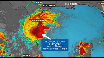 Fernand makes landfall in Mexico; 5 tropical systems being monitored