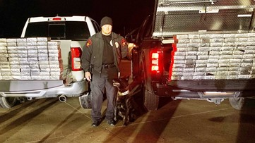 K-9 Officer Stryker sniffs out $1.2M in meth, a record drug bust in Lewisville