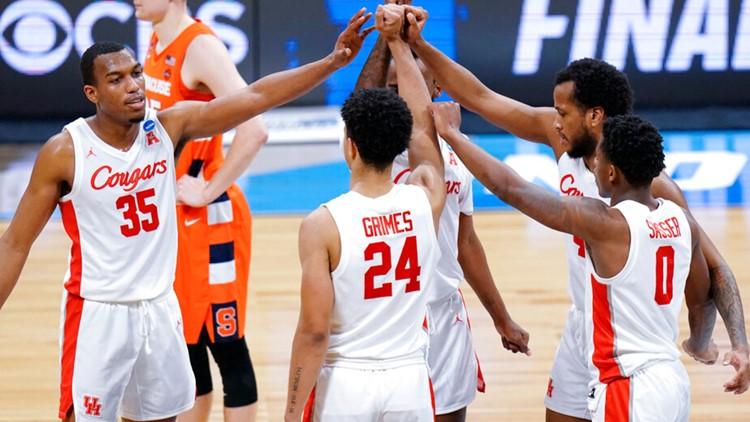 Houston tops Syracuse 62-46, advances to first Elite Eight since 1984