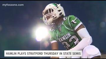 Hamlin takes on Stratford in the state semis Thursday