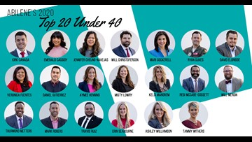 Abilene Young Professionals announce 2020 Top 20 Under 40 class