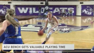 ACU Bench gets valuable playing time