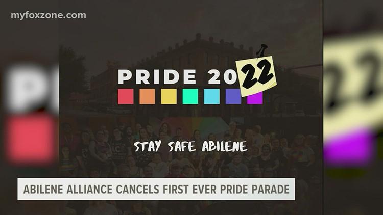 Inaugural Pride parade in Abilene canceled
