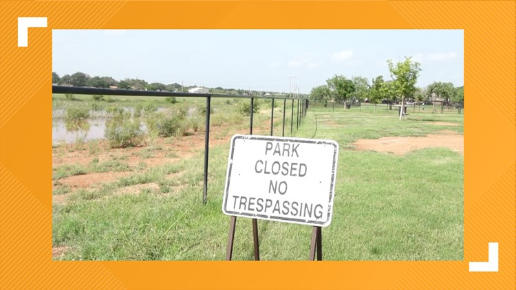San Angelo's small dog park won't reopen until new double gate installed after second theft of the summer