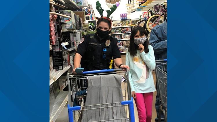 San Angelo children given shopping opportunity through Operation Blue Santa 2020