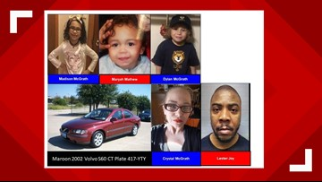Amber Alert issued for children last seen in Sealy, Texas