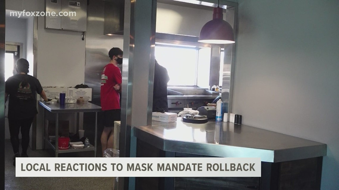 San Angelo business owners are making decisions ahead of the end of Texas' mask mandate