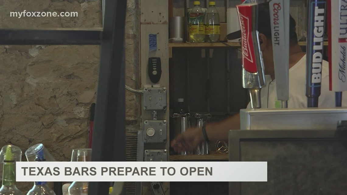 West Texas bar owners prep for reopening