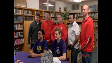 Two Albany stars sign with HSU