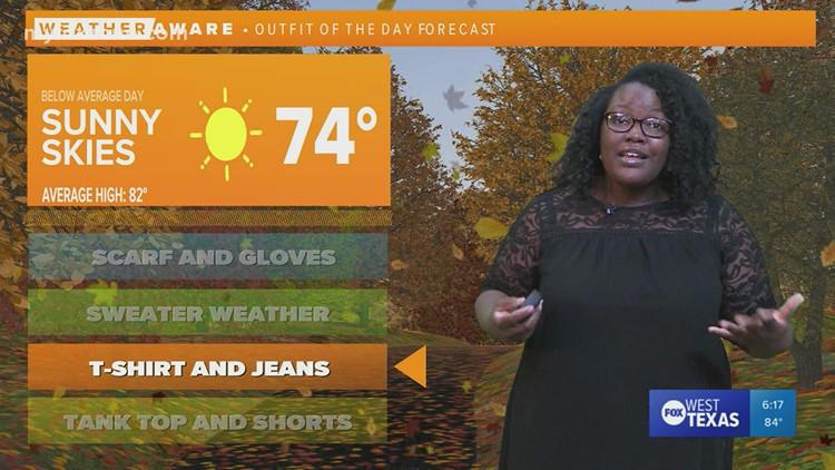 Thursday evening forecast October 14, 202