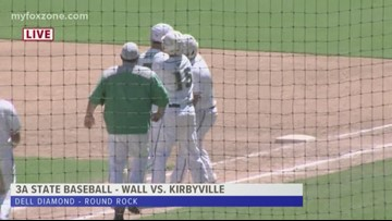 Wall Hawks soar into 3A state baseball final