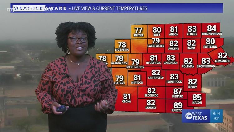 Tuesday evening forecast September 21, 2021