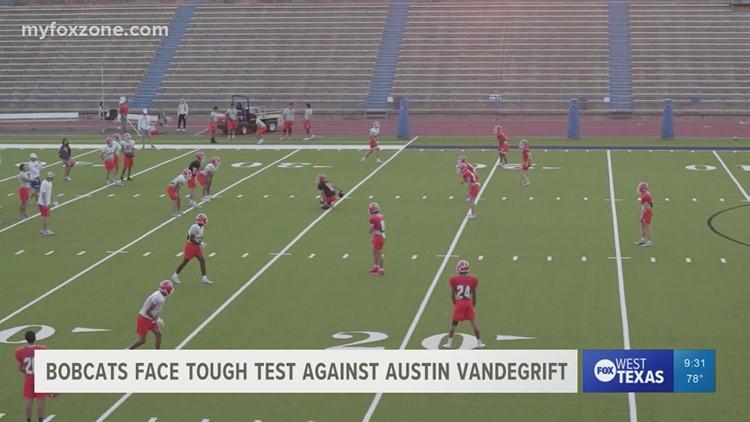 San Angelo Central football team prepared to take on Austin Vandegrift Friday night