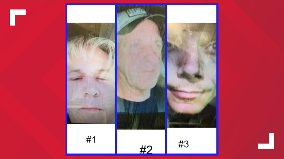 APD Cyber Crimes Unit seeks public's help IDing these three men