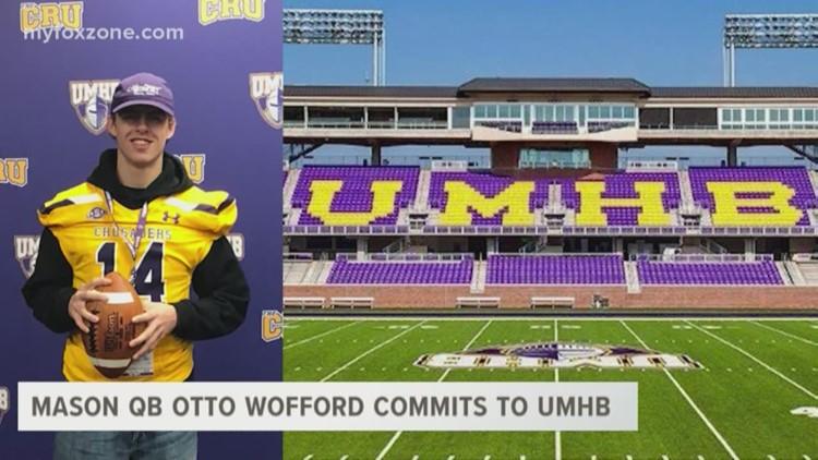 Mason QB Otto Wofford commits to UMHB