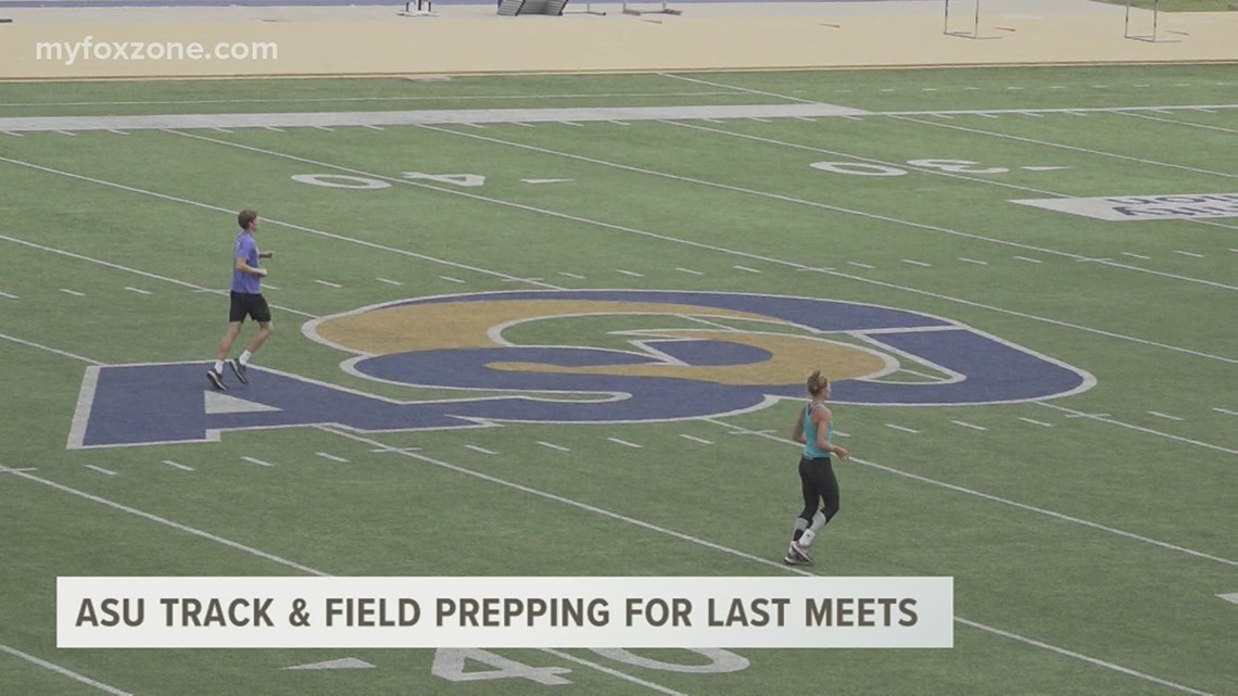 Angelo State track and field progressing toward the end of the season