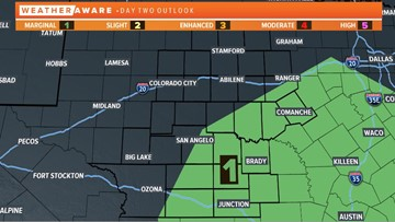 Keep an eye on the sky: Severe weather possible Thursday