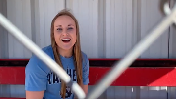 Miles softball player pursues her dreams, signing with North Carolina