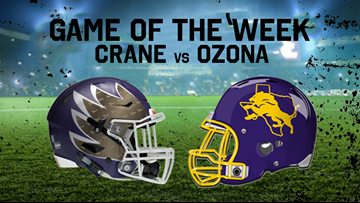 Crane at Ozona is the FOX Football Live Game of the Week for Oct. 4